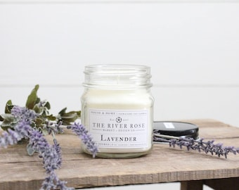 Lavender | 100% Natural Soy Candle | Hand-Poured