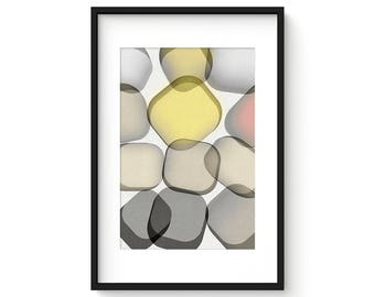 GLASS no.2 - Giclee Print - Contemporary Modern Style Minimalist Modernist  Abstract