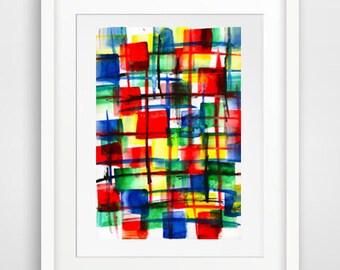 original fine art wall art wall decor, modern abstract, contemporary art, room decor living room art