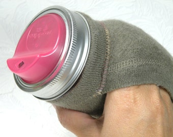 Jar Cozy - 3/4 pint size - pocket