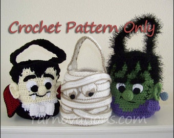 Halloween Monsters Trick or Treat Bags