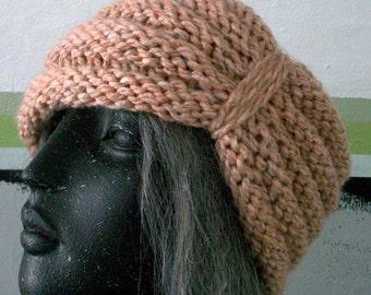 HAT WOMEN KNITTED  Beehive   Turban    Cloche    Open Top   Beanie    Half Hat    Headband    Earwarmer