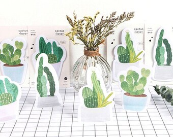 Cactus Sticky Notes • Cactus Love Sticky Notes • Planner Supplies