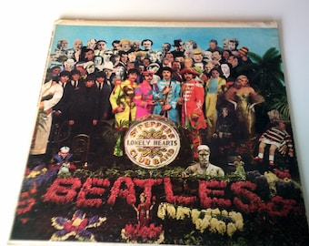 beatles sgt peppers lonely hearts club band vintage oringnal record