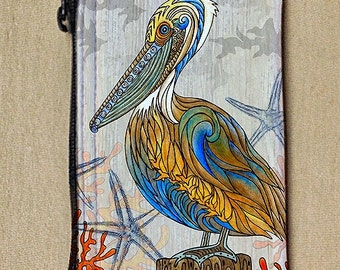 Pelican Perch Coin Bag