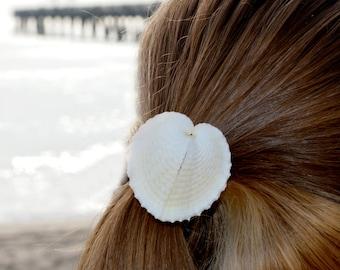 Heart Cockle Seashell hair band