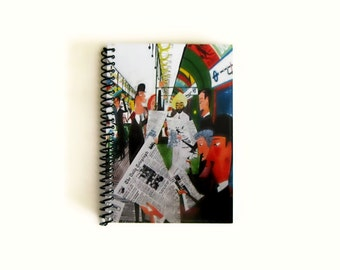 London Subway A6 Pocket Notebook