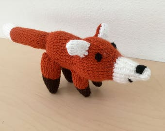 Mini knit fox