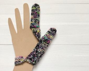 Index and Thumb Finger Cover - Dermatillomania Help - Trichtillomania Habit Helper - Excoriation Disorder
