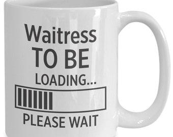 Waitress to be coffee mug | gift for waitress | waitress | waitress gift | waitress art | waitress gifts | waitress print | waitress for him