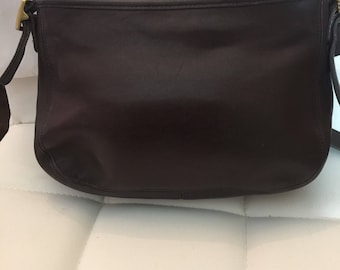 Vintage Brown Leather Coach purse