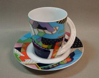 Espresso Sammeltasse Nº 4 Brigitte Doege Rosenthal Porcelain