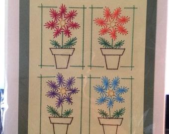 4 Flower Pots