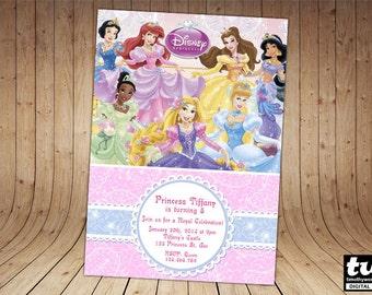 Disney Princess Invitation