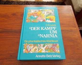 hb 1982 Der Kampf um Narnia c.s.lewis