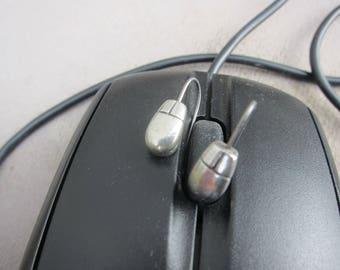 Computer Mouse Earrings - LT435