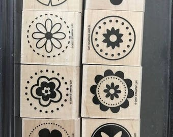 Stampin' Up! Beautiful Circles Stamp Set!