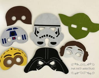 Star Wars Party, Star Wars Party Favors, Star Wars Birthday