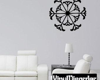 Snowflakes Vinyl Wall Decal Or Car Sticker - Mv018ET