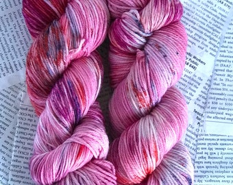 "Superwash Wool/Nylon Blend Sportweight yarn in ""Chrome Funk Confetti"" 274 yards each skein"