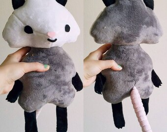 Cute Opossum Plush Toy Doll  - Woodland Creature Series