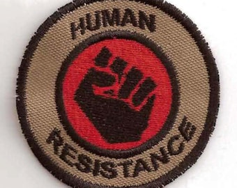 Human Resistance Geek Merit Badge Patch