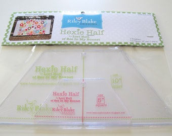Hexie Half Ruler/Templates
