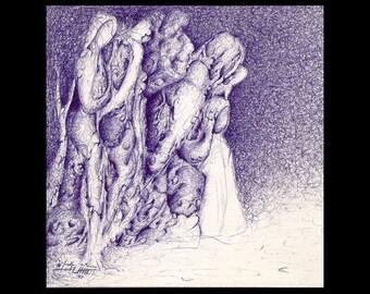 Original Drawing ...Original  Art [ Contemporary]