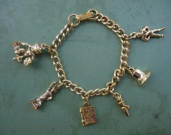 Charm Bracelet with Cherub