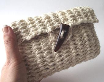 CROCHET PATTERN BAG Daiquiri bag Clutch Bag Pouch Crochet Purse Bag pdf pattern Instant Download crochet Purse Bag Summer Bag Jute Pouch