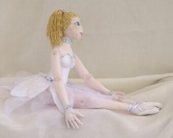 ballerina cloth doll