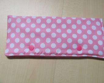 Dpn Kit pink with white dots
