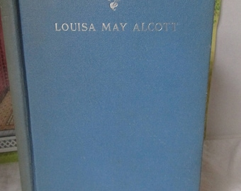 Eight Cousins Book by Louisa May Alcott 1927 Blue Hardbound in Nice Condition