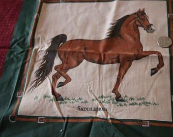 24 Cranston Two horse squares