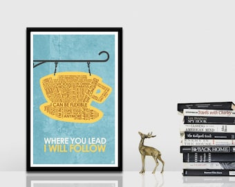 Gilmore GIrls Quote Poster
