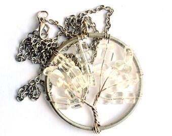 Bodhi Tree Pendant - Yoga / Meditation Jewelry