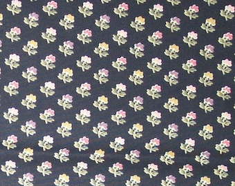 Fleur Jolie color Black Waverly Fabric Home Decor