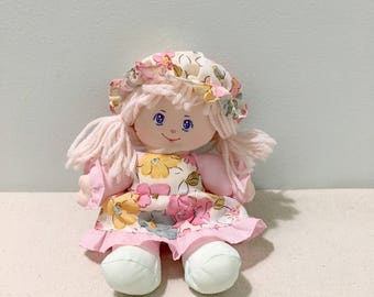 Vintage Dolly Mine Plush Doll