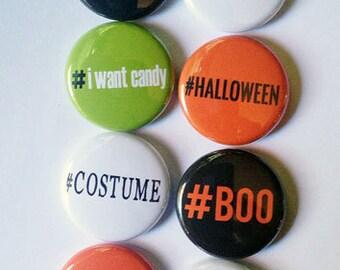 Hashtag Halloween Flair