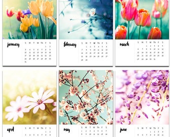 2018 calendar photography calendar floral 4x6 5x7 2017 desk calendar with easel fine art photography botanical 2018 nature calendar tulips