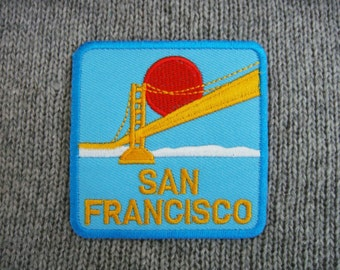 San Francisco Embroidered Applique Iron on Patch