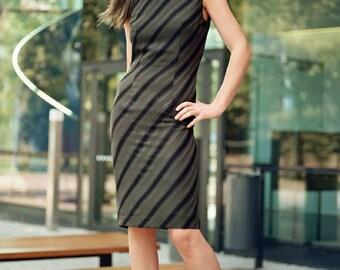 Striated Dress