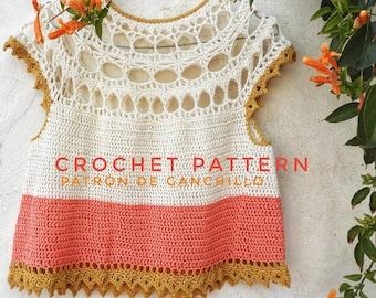 Xochitl Top Crochet Pattern