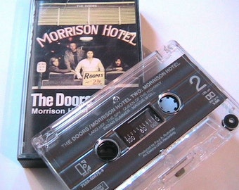 The Doors Elektra Music Audio Cassette Tape - Morrison Hotel - Made in Germany - New Vintage
