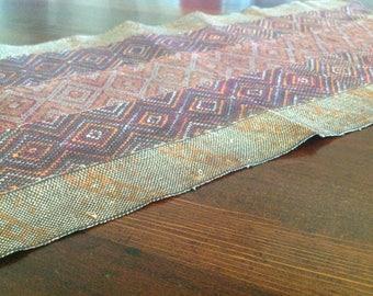 Burma or Myamar Chin Awa Khami Tribe Hand-Woven Textile #1