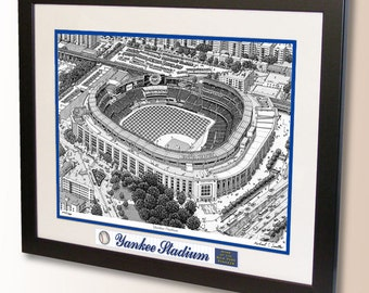 New Yankee Stadium Art, home of the New York Yankees