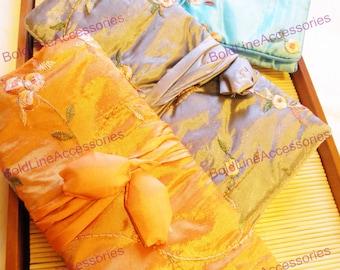 Silk Jewelry Travel Pouch