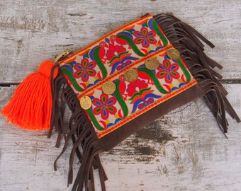 boho bag/boho purse/boho clutch/bohemian bag/embroidered bag/embroidery bag/ethnic bag/hippie clutch/gypsy bag/banjara/hippie bag/gipsy