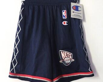 new york nets deadstock champion shorts boys size medium