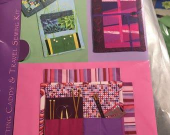 Knitting Caddy/Travel Sewing Kit design by Valori Wells pattern